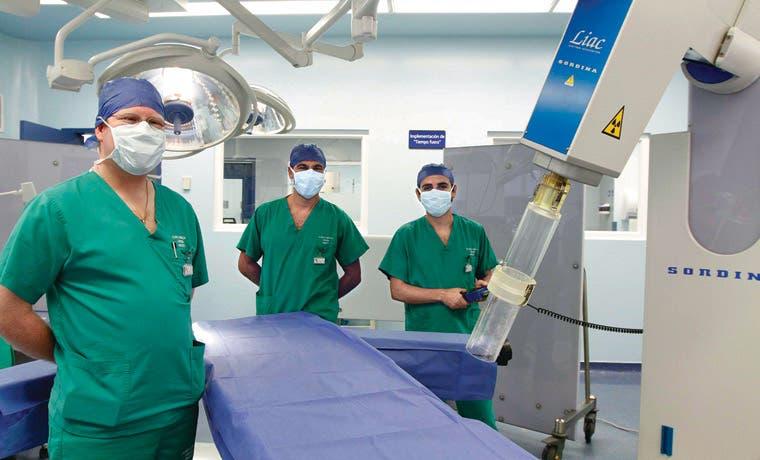 Tratamiento cura cáncer de mama en una única sesión