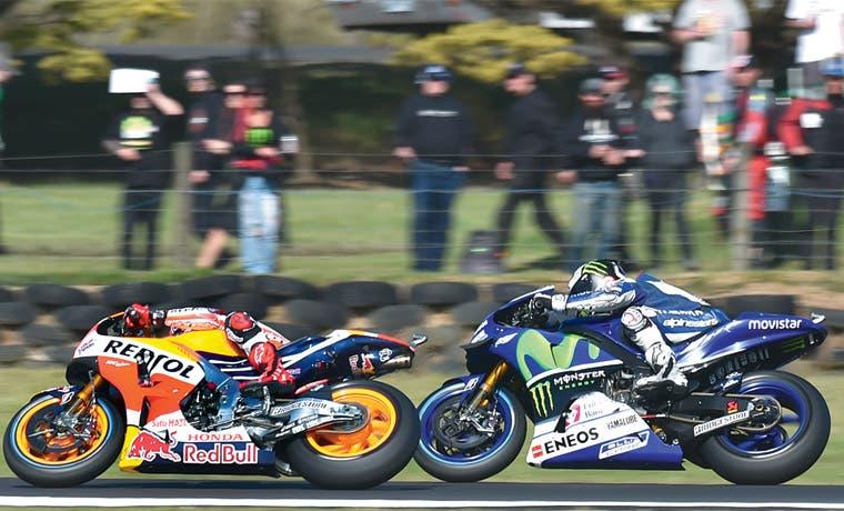 Lorenzo asfixia a Rossi