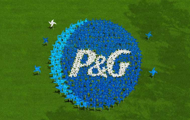 P&G realizará productos con energía eólica