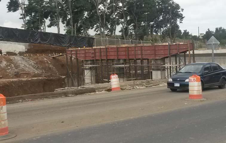Cuatro carriles del paso a desnivel en Alajuela abrirán el lunes