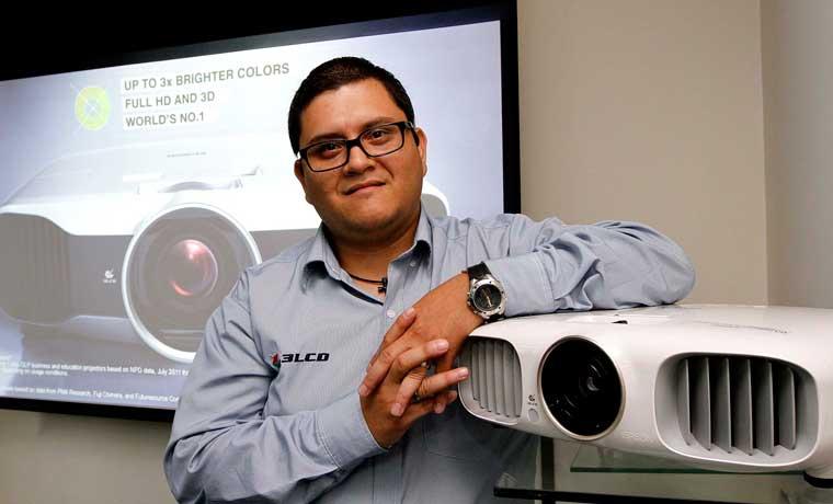 Epson domina mercado local de videoproyección