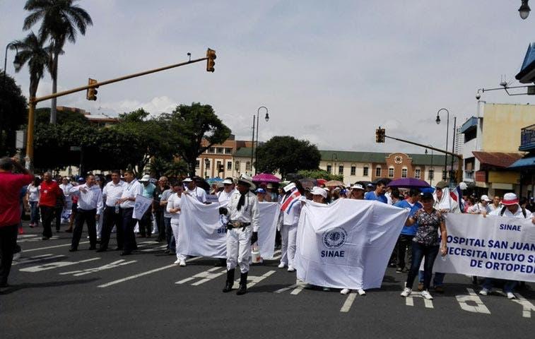 "Patria Justa: ""Servicios de emergencias no se verán afectados por huelga"""