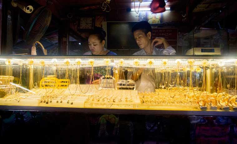 Demanda de oro en China alcanza cifra récord