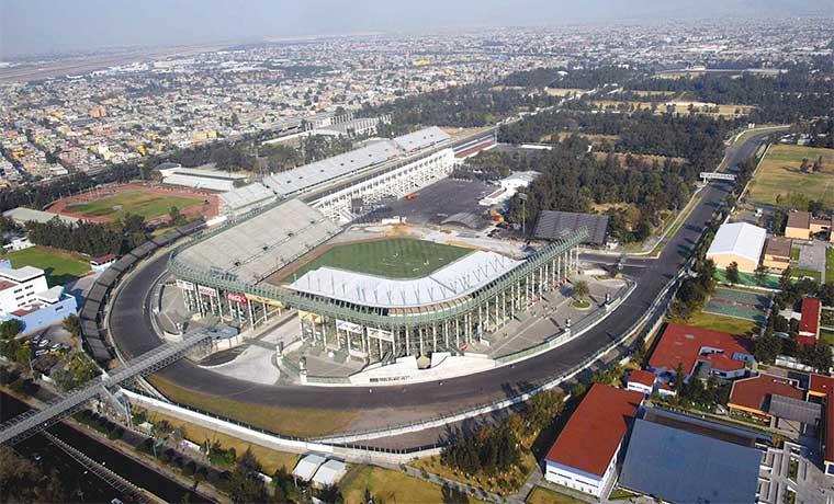 F1 definida pasea por México
