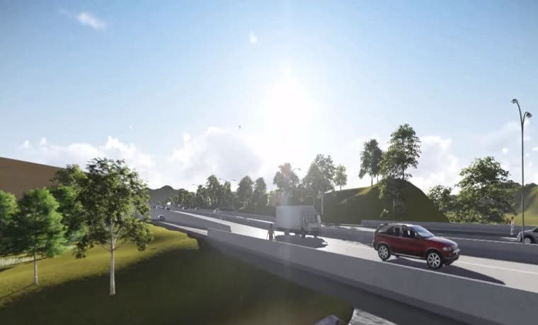 Ampliación del puente en radial Alajuela finalizará el miércoles