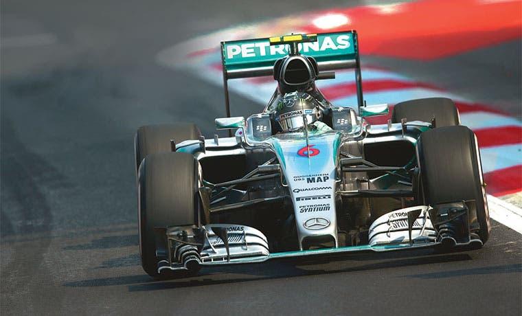 Mariachis a Rosberg