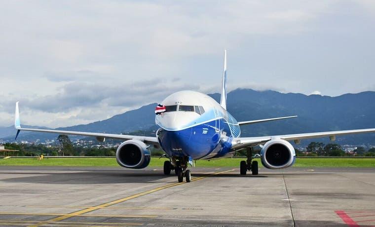 Aeropuerto de Liberia recibió tres vuelos inaugurales este fin de semana