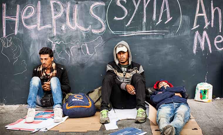 Mayor desafío ante los refugiados en Europa