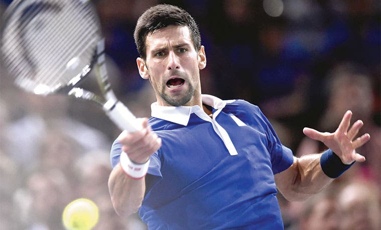 ¡Soberbio Djokovic!