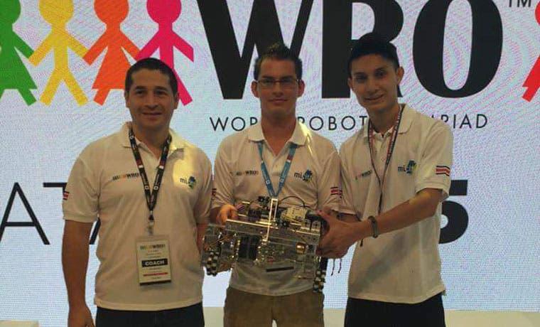 País gana por primera vez cuarto lugar en Olimpiada Mundial de Robótica
