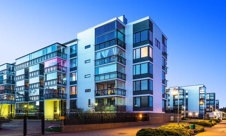 Construcción impulsada por proyectos residenciales