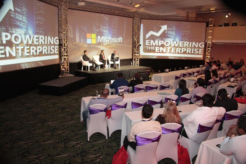 Microsoft expuso sobre digitalización a empresarios nacionales