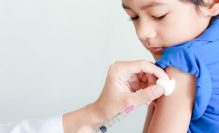 Cifras de vacunación en niños superan metas