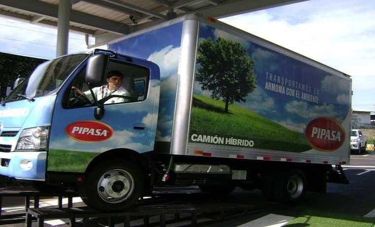 Primer camión híbrido se comercializa en Costa Rica