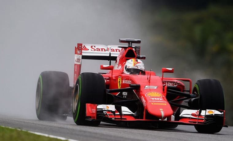 Vettel va por Rosberg