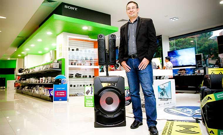 Sony apuesta por línea de sonido y video
