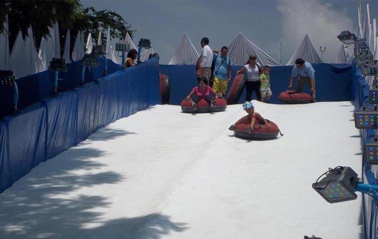 Parque de nieve abrirá este sábado sus atracciones
