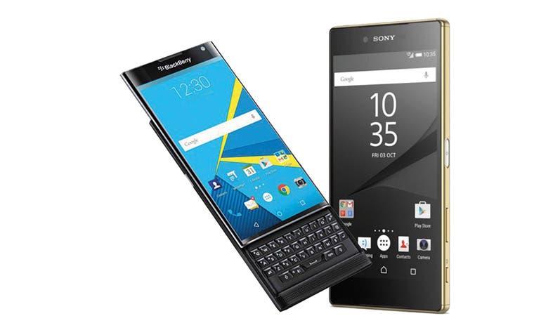 Celulares de Blackberry y Sony dirían adiós