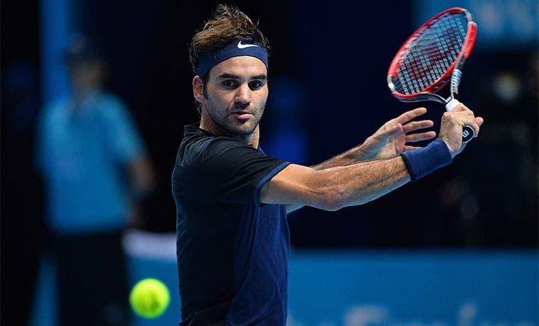 Federer a lo grande