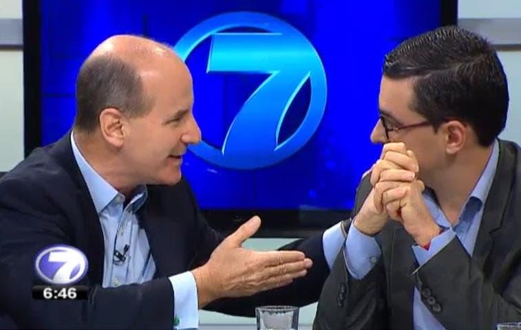Figueres, Villalta y Ottón se enfrentaron en ácido debate