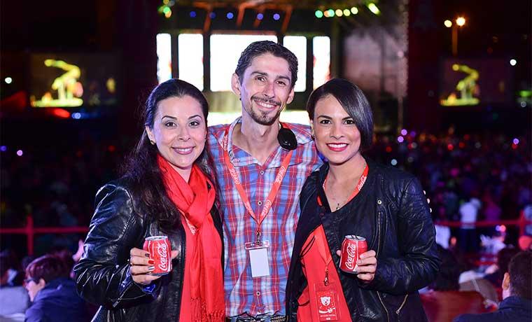 Coca-Cola iluminó La Sabana