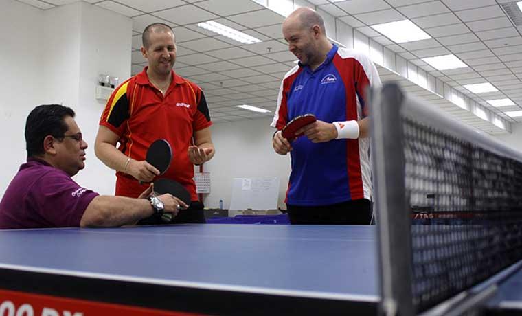Paralímpico de tenis de mesa en diciembre