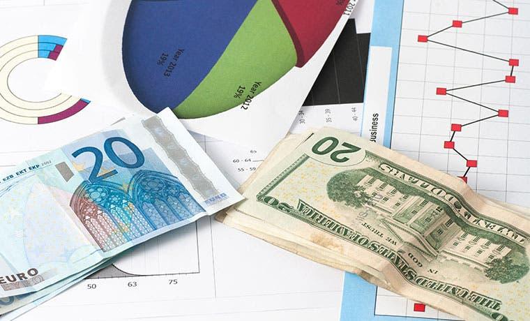 Euro cae a menor nivel en siete meses y se ve baja inflación