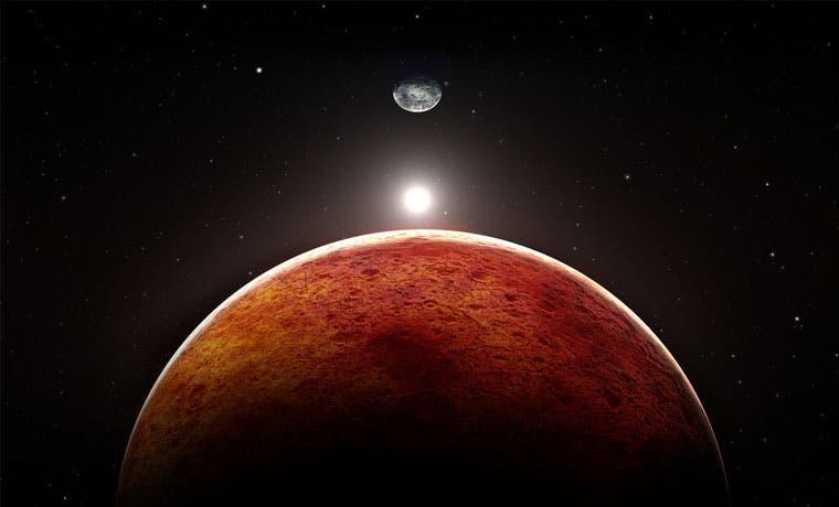 Algunas formas de vida podrían sobrevivir en Marte, indica estudio