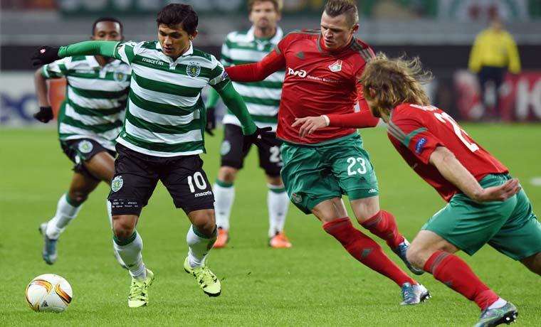 Bryan Ruiz aportó gol en triunfo del Sporting