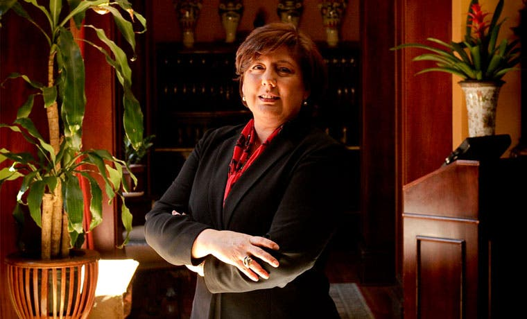 """Vicepresidenta del BCR: """"Me disculpo con las mujeres que se sintieron ofendidas"""""""