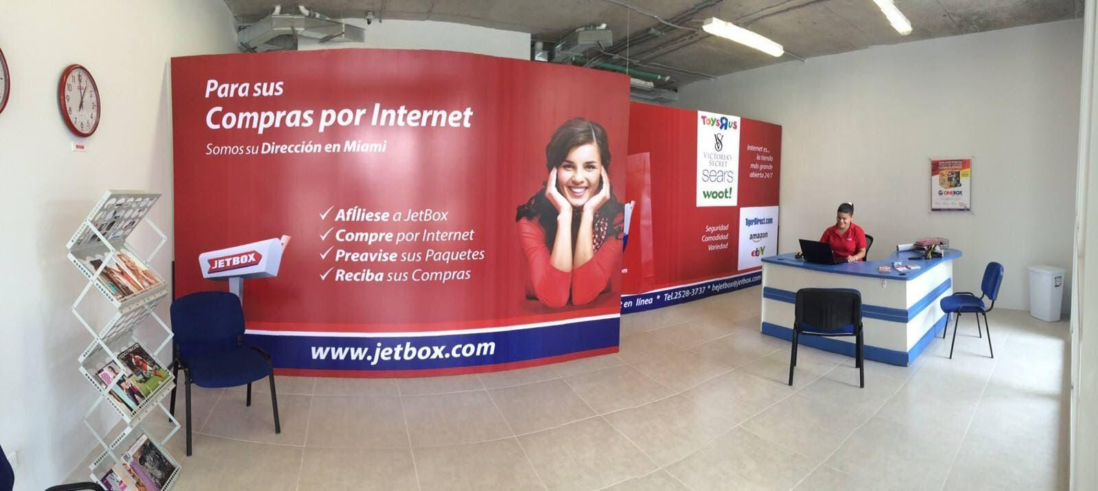 JetBox regala costo del flete internacional