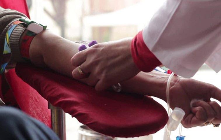Caja convoca a donar sangre para fechas festivas este lunes