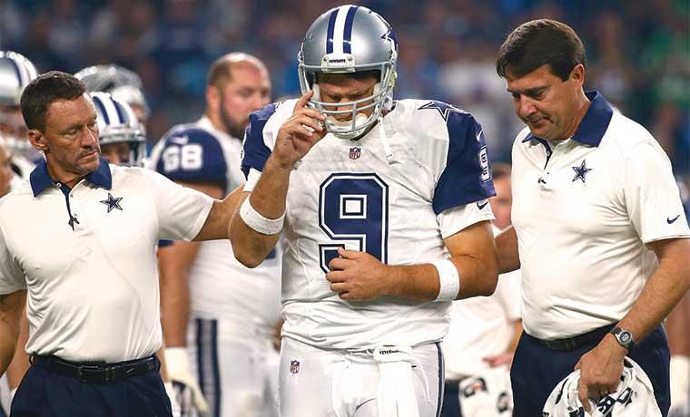 Tony Romo dice adiós