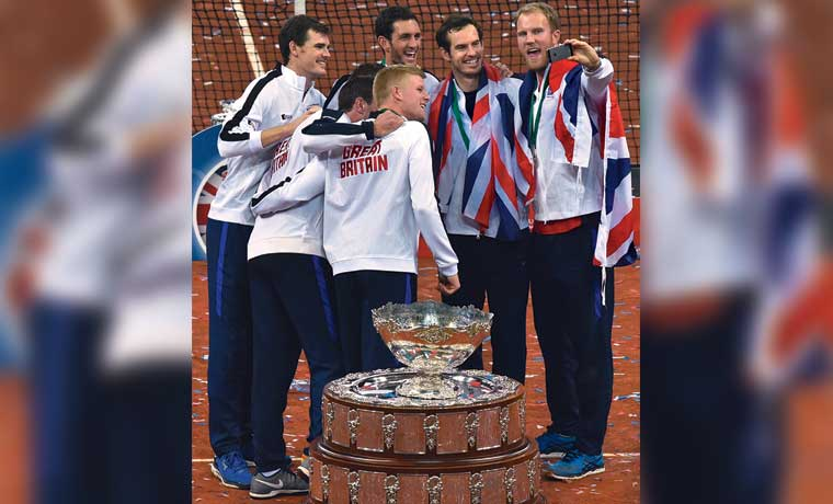 Murray ilumina a Inglaterra