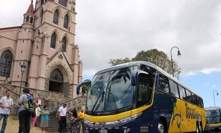 Limón y Managua estarían conectados por autobuses Transnica