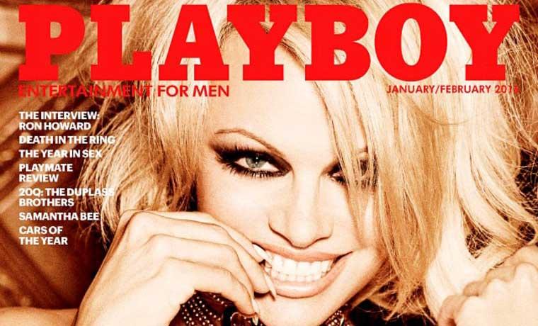 Pamela Anderson, último desnudo de Playboy