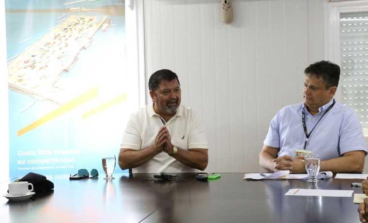 APM Terminals y Fuerza Pública firman convenio de seguridad en Limón