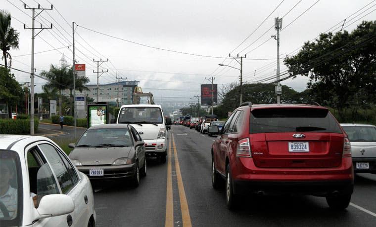 10% de los propietarios de vehículos cancelaron el marchamo