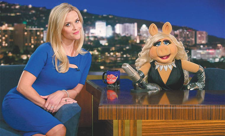 Reese Witherspoon se une a Los Muppets