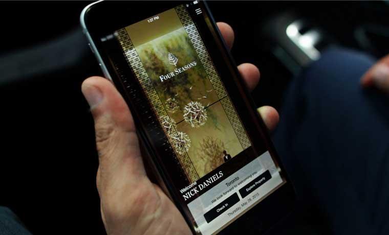 Four Seasons lanza aplicación