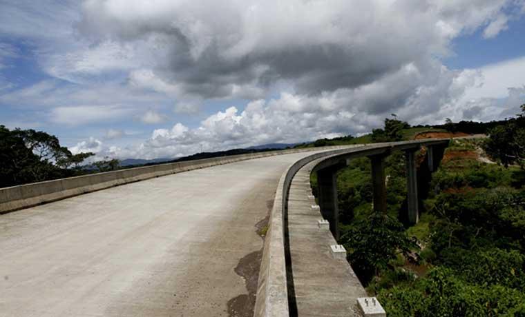 Carretera a San Carlos para el 2017