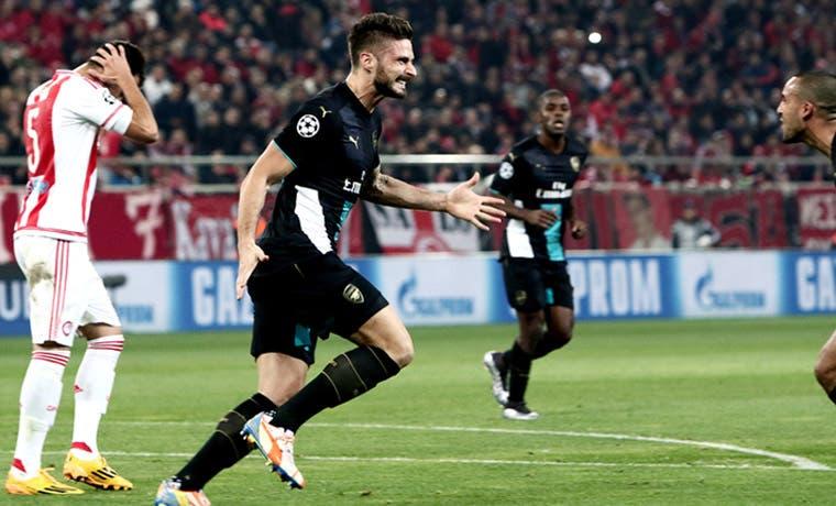 Arsenal sigue vivo