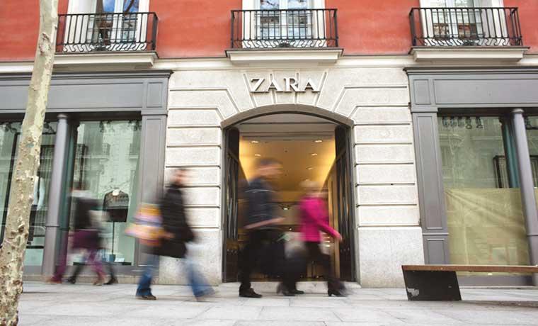 Ventas de Inditex en España crecen a su mayor ritmo en tres años