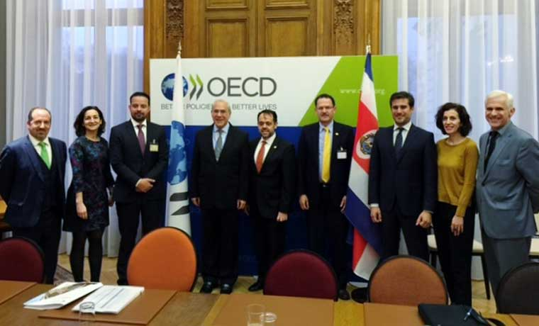 OCDE realizó primera revisión de política económica de Costa Rica