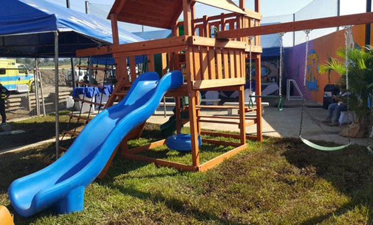La Carpio inauguró parque recreativo