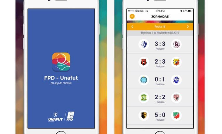 Fútbol de primera división lanzó su nueva app oficial