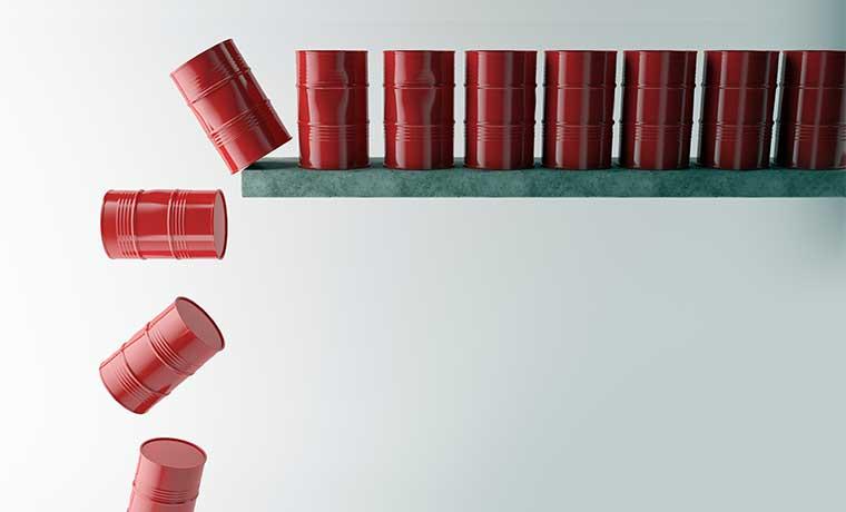 Alto riesgo de nuevas bajas del petróleo