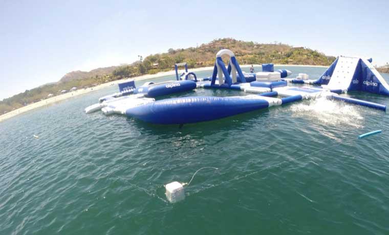 Coca Cola instalará parque acuático en playa Flamingo