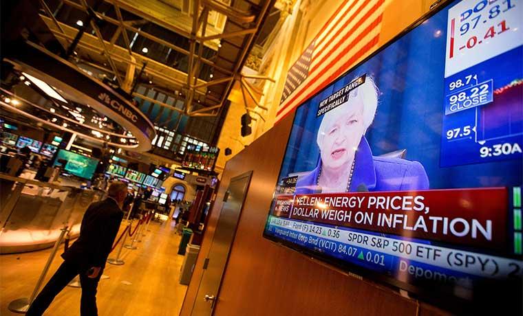Presidenta de la Fed confía en la recuperación de la inflación