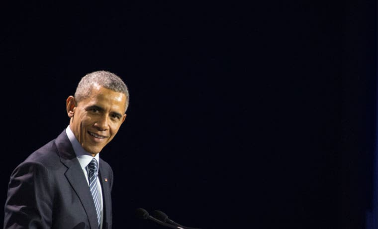 """Obama: """"Ninguna nación es inmune a efectos del cambio climático"""""""